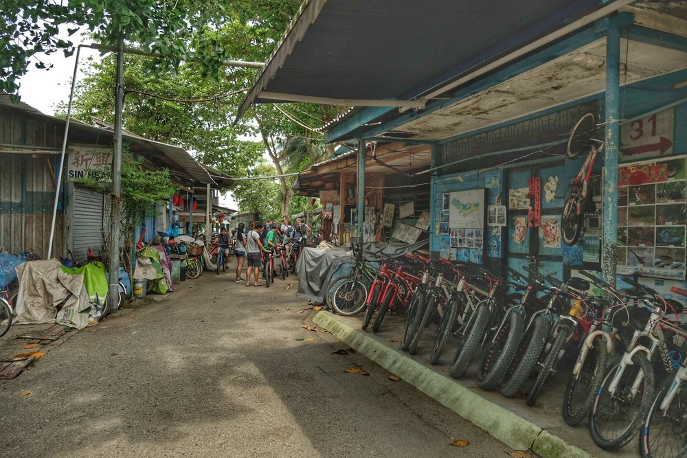 Main Village of Pulau Ubin.