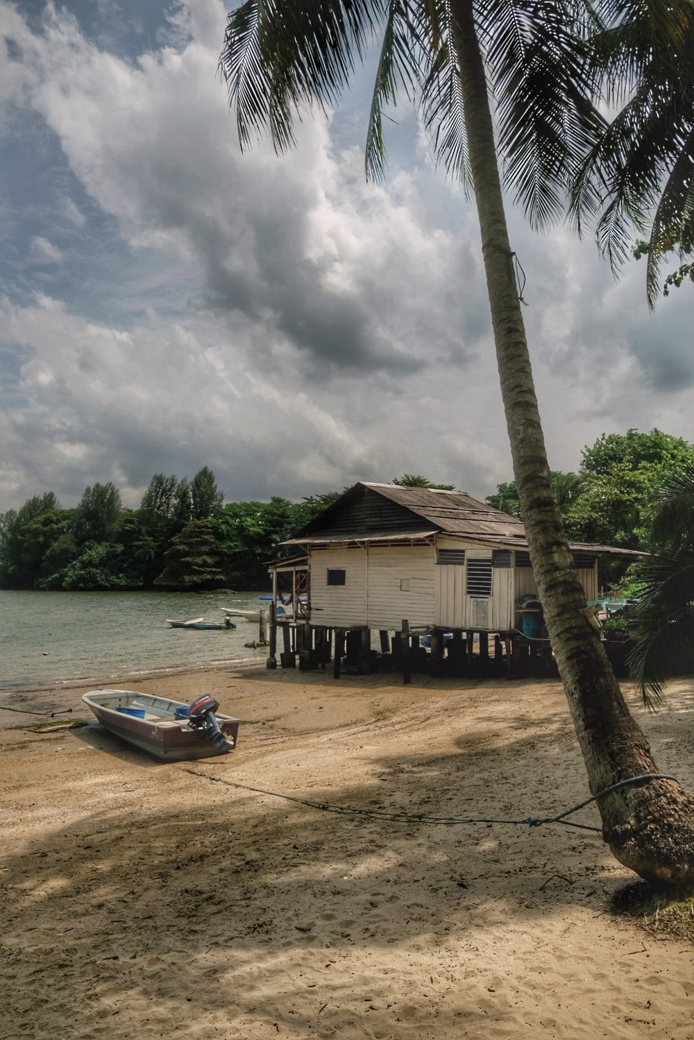 Stilt house on Ubin.