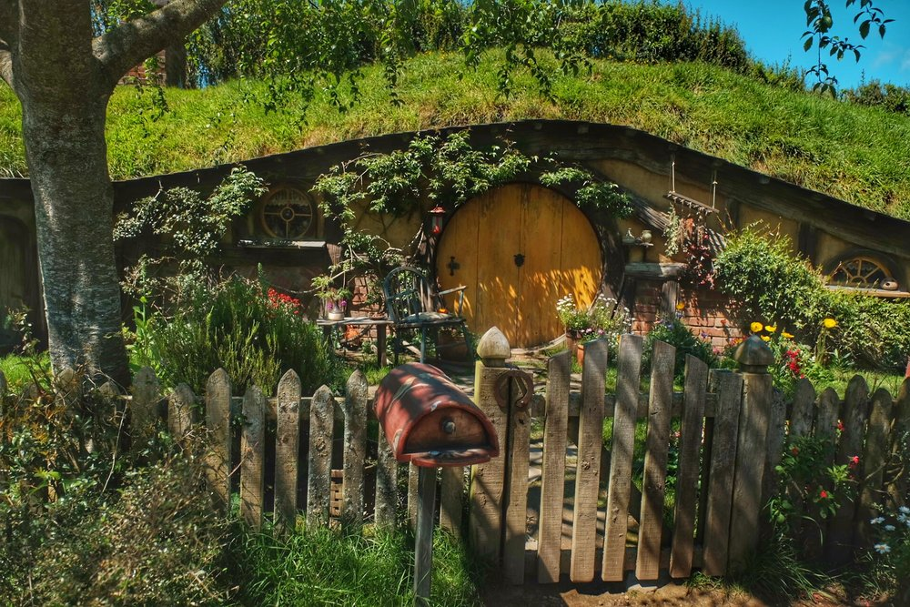 Hobbiton, North Island New Zealand