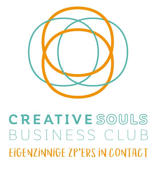 Creative Souls Business Club - De Creative Souls Business Club is een laagdrempelige club voor eigenzinnige zp'ers die op zoek zijn naar inspiratie, praktische kennis en leuke contacten met gelijkgestemde ondernemers. Offline én online creëren we een levendig netwerk waar we in een vriendelijke en vertrouwde sfeer onze uitdagingen met elkaar bespreekbaar maken