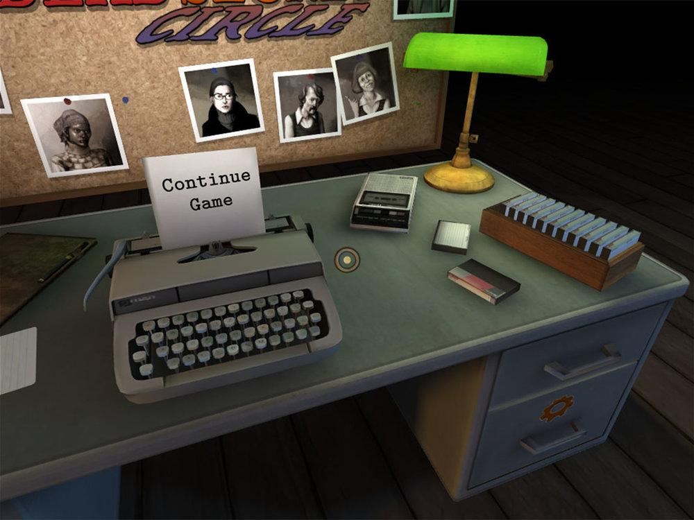 Dead Secret Circle Continue Game Screen