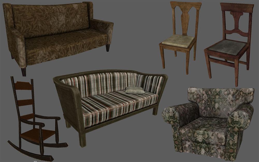 Dead Secret Circle--furniture