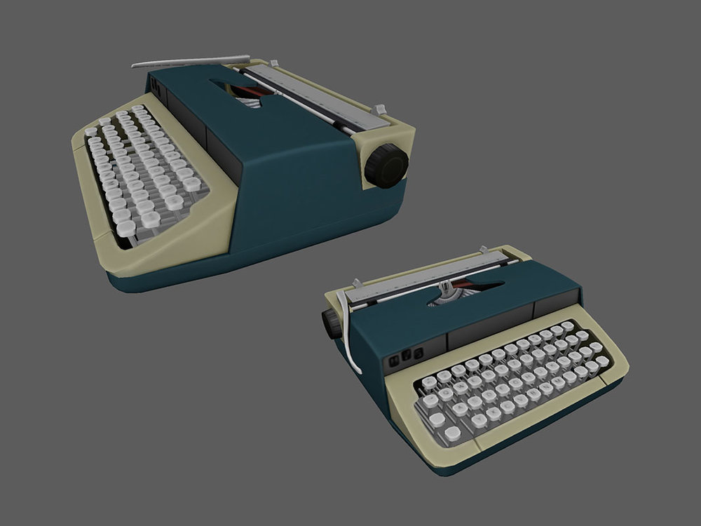 Dead Secret Circle typewriters