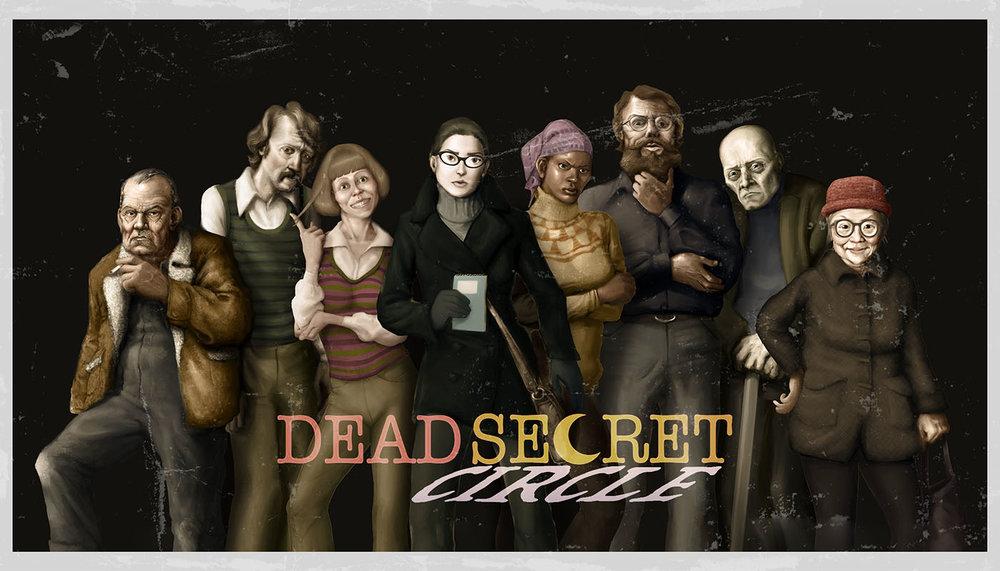 Dead Secret Circle--all character portraits