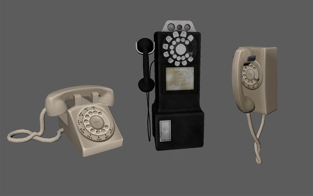 Dead Secret Circle--phones