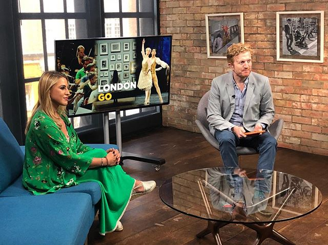 Spreading the word on Broken Wings to London Live with Luke Blackall, and will go Live on Friday at 7pm 🙏 #brokenwings #musicaltheatre #musical #london #qatar #composer