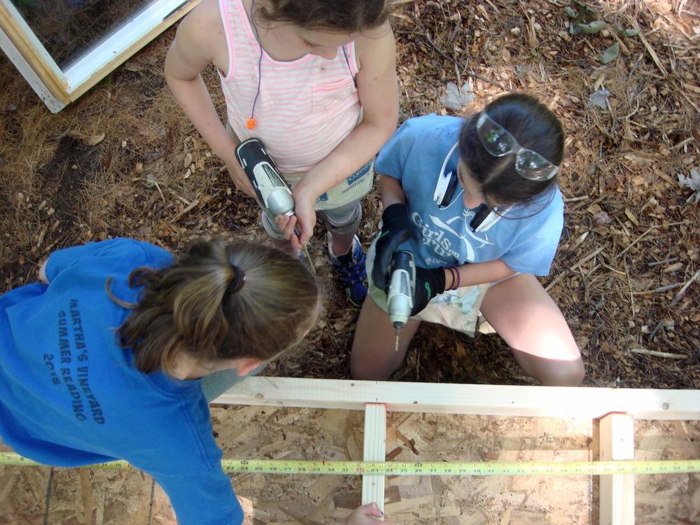Measuring between wall studs