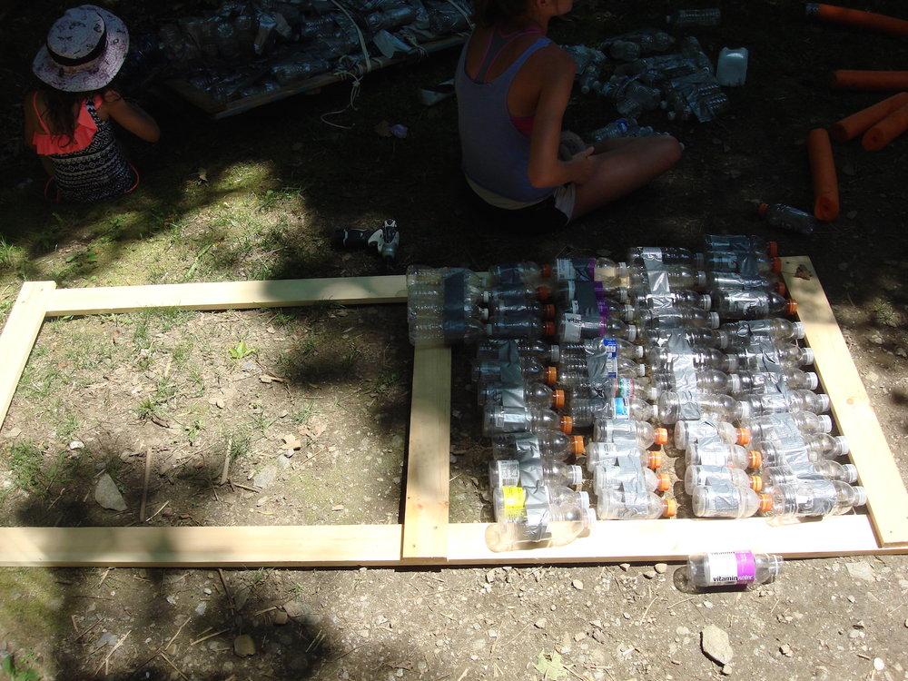 Bottle rows