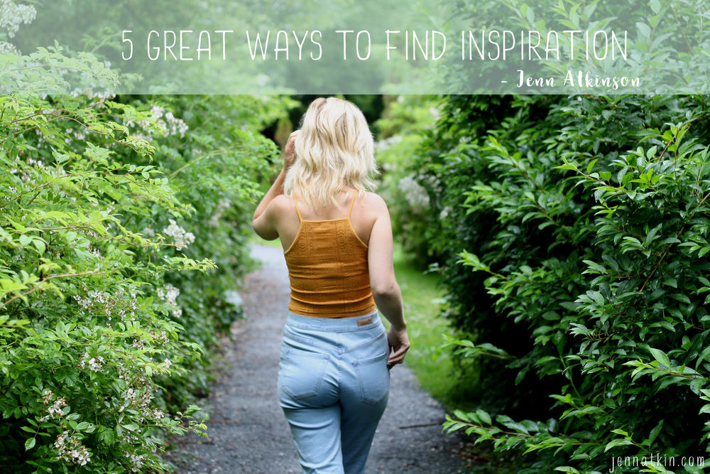 5 ways i find inspiration