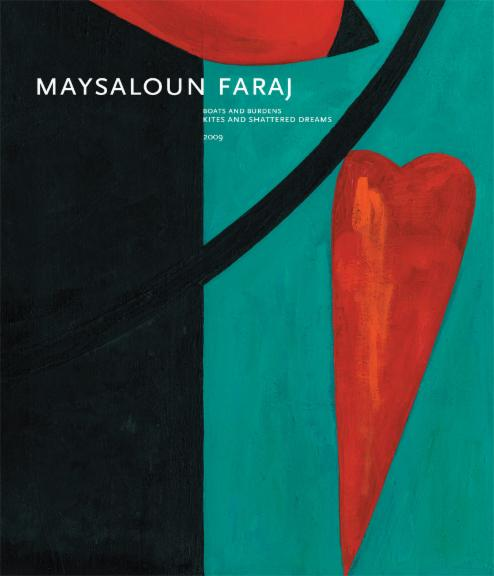 BOATS AND BURDENS: KITES AND SHATTERED DREAMS  Maysaloun Faraj  2009 Catalogue Cover