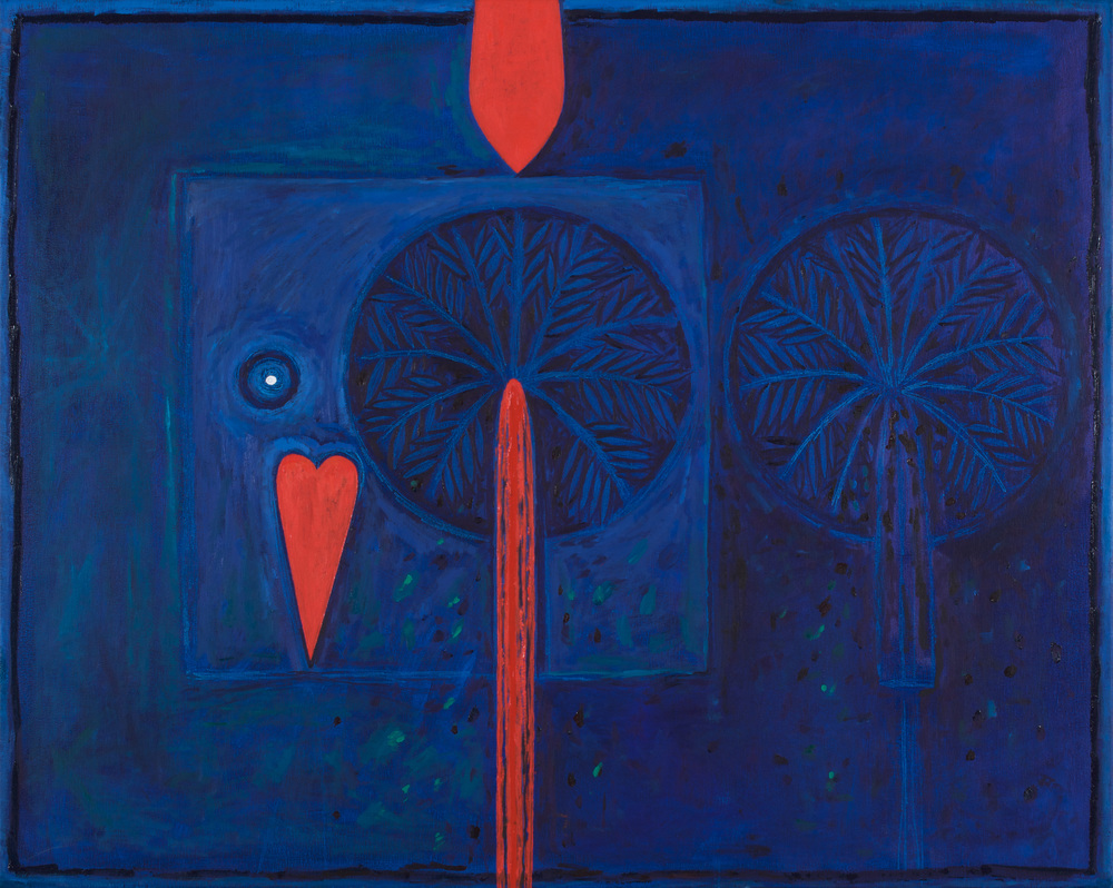 Hala  Kites and Shattered Dreams  Oil on canvas 80x100cm 2008 Husri Collection Jordan