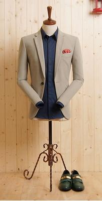 Light Grey Suit - 100% Cotton.
