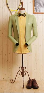 Light Olive Suit - 100% Cotton.