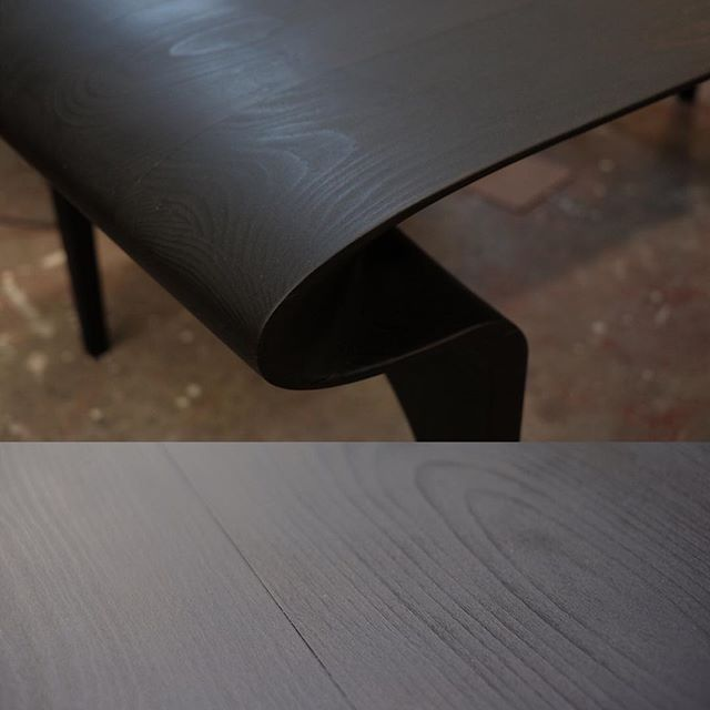 ... the result. #black #shousugiban #burnt #design #furniture #cnc