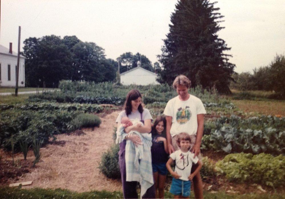 Asa's family's garden.