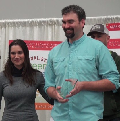 "Khala Cloths winning the 2016 Portland Green Festival's ""most exciting"" brand award."