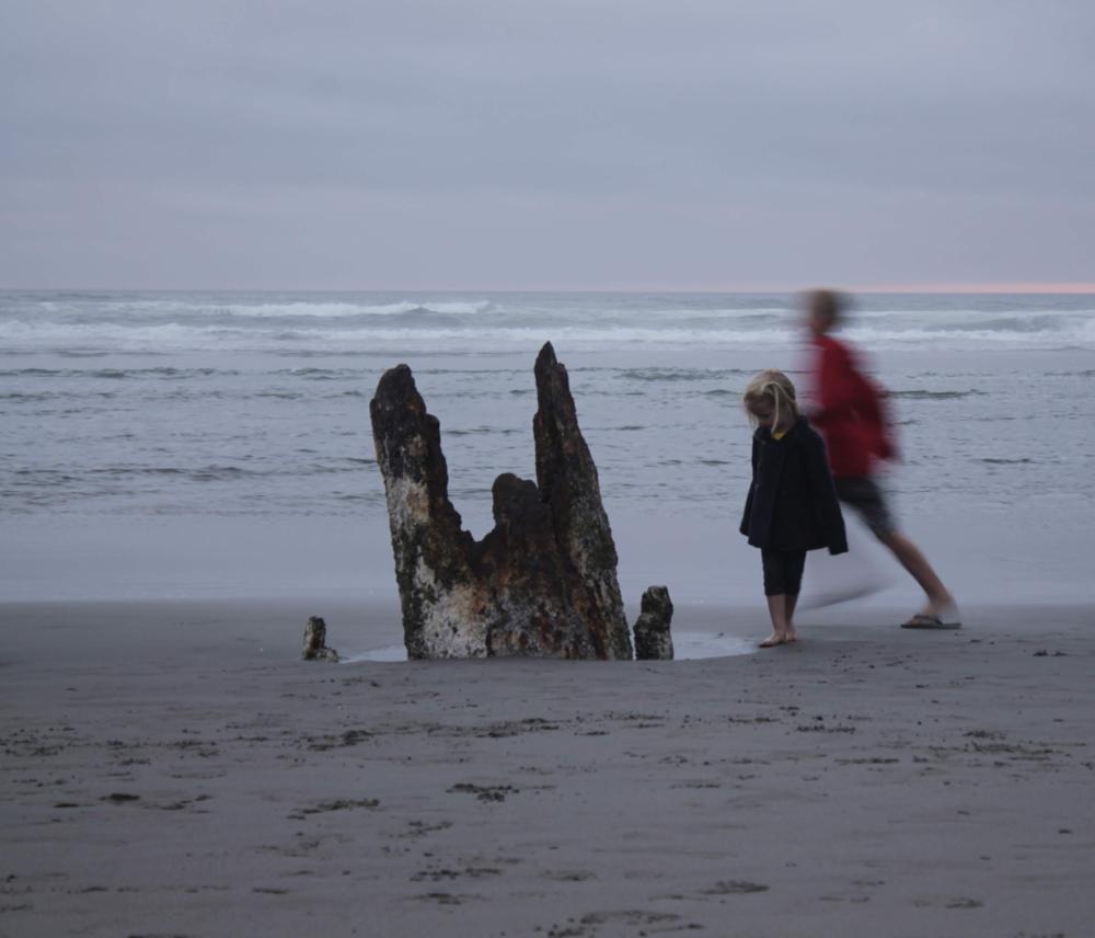when it's easier - Photo Credit: S. Ian Martin, Shipwreck Point Beach, Washington