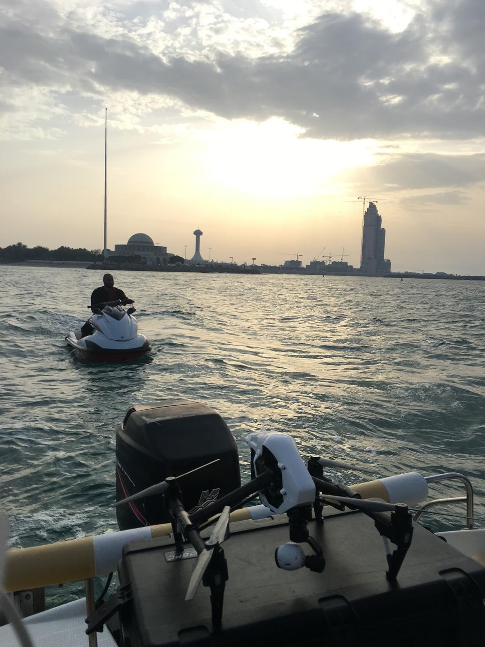 In Abu Dhabi