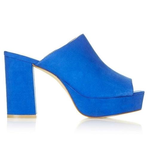Electric Blue Mule