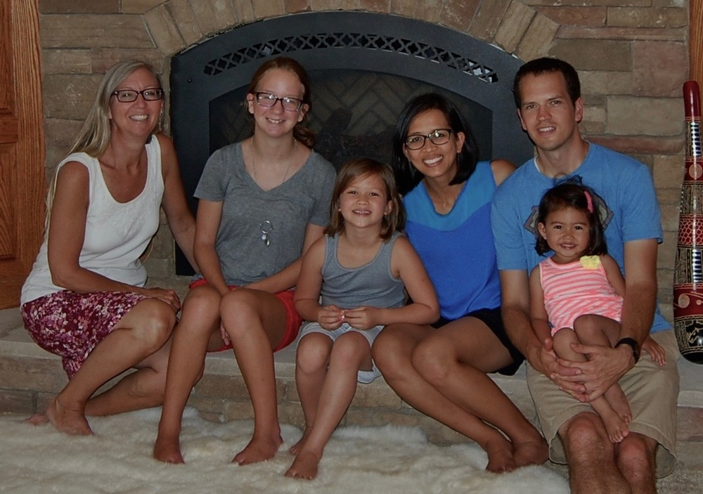 At Sioux Falls with Sarah & Tessa