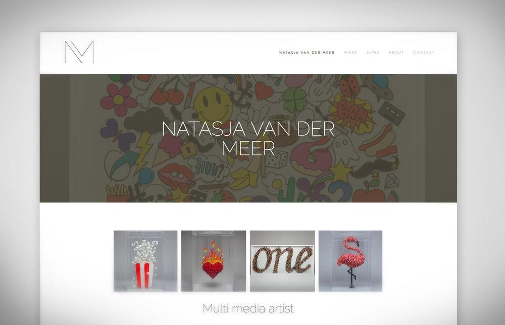 Natasja van der Meer webdesign
