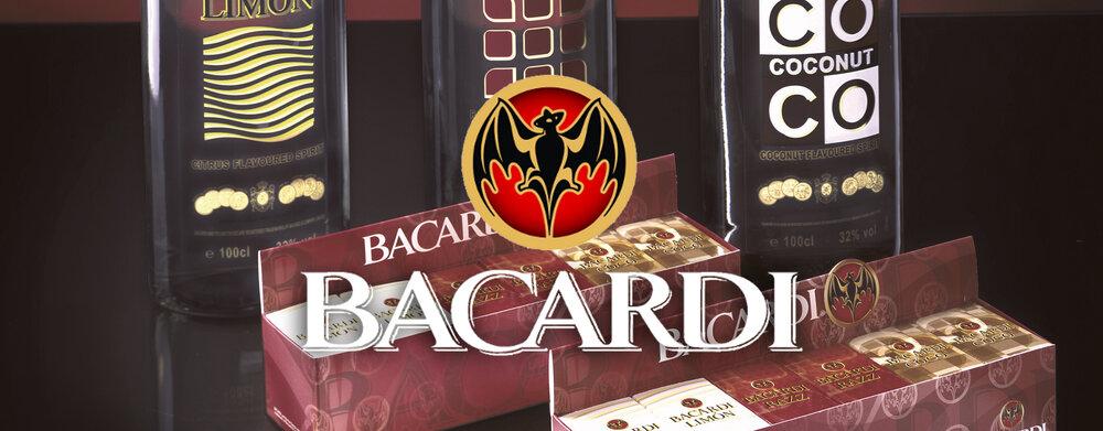 Bacardi giftpack design