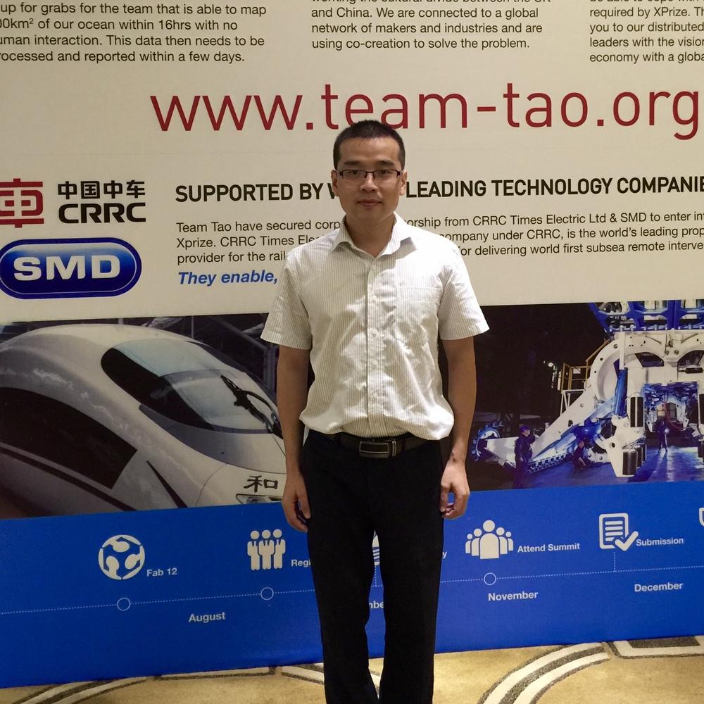 朱迎谷 博士 队员 控制工程师 株洲中车时代电气 中国