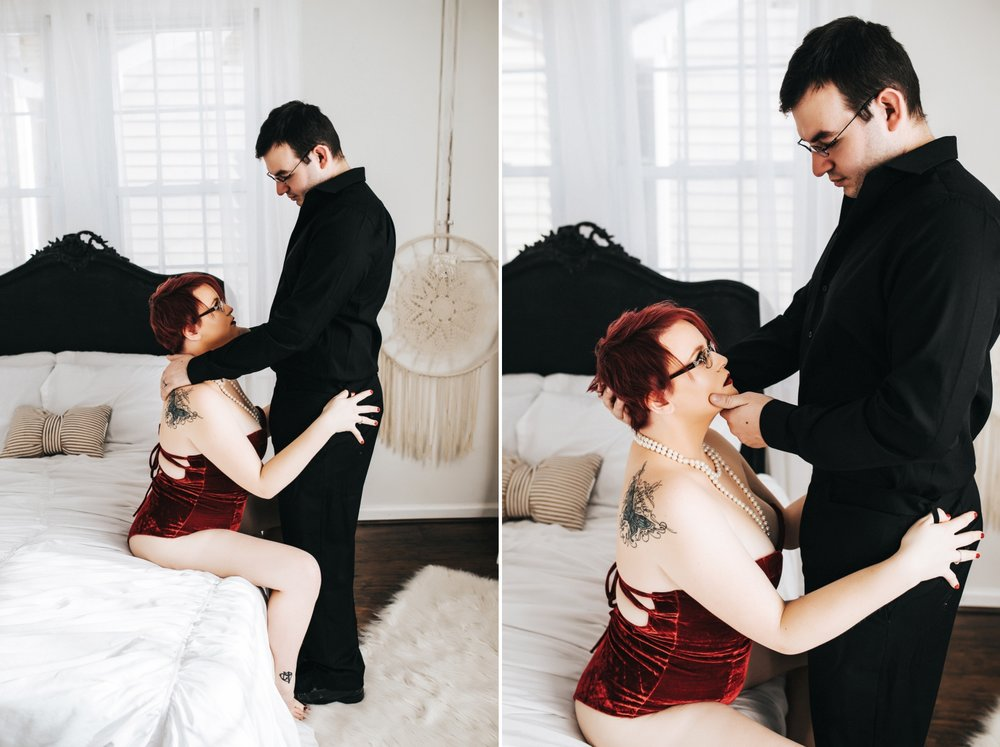 Jacksonville Boudoir Photographer | Couples Boudoir Photography | Rebel Intimate Boudoir Studio