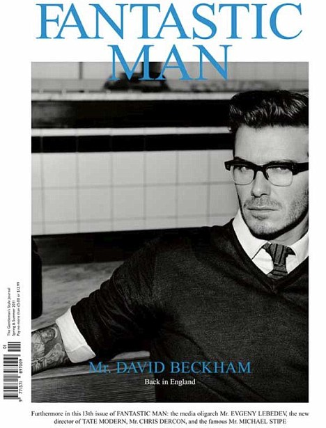 DAVID BECKHAM — SPRING AND SUMMER 2011