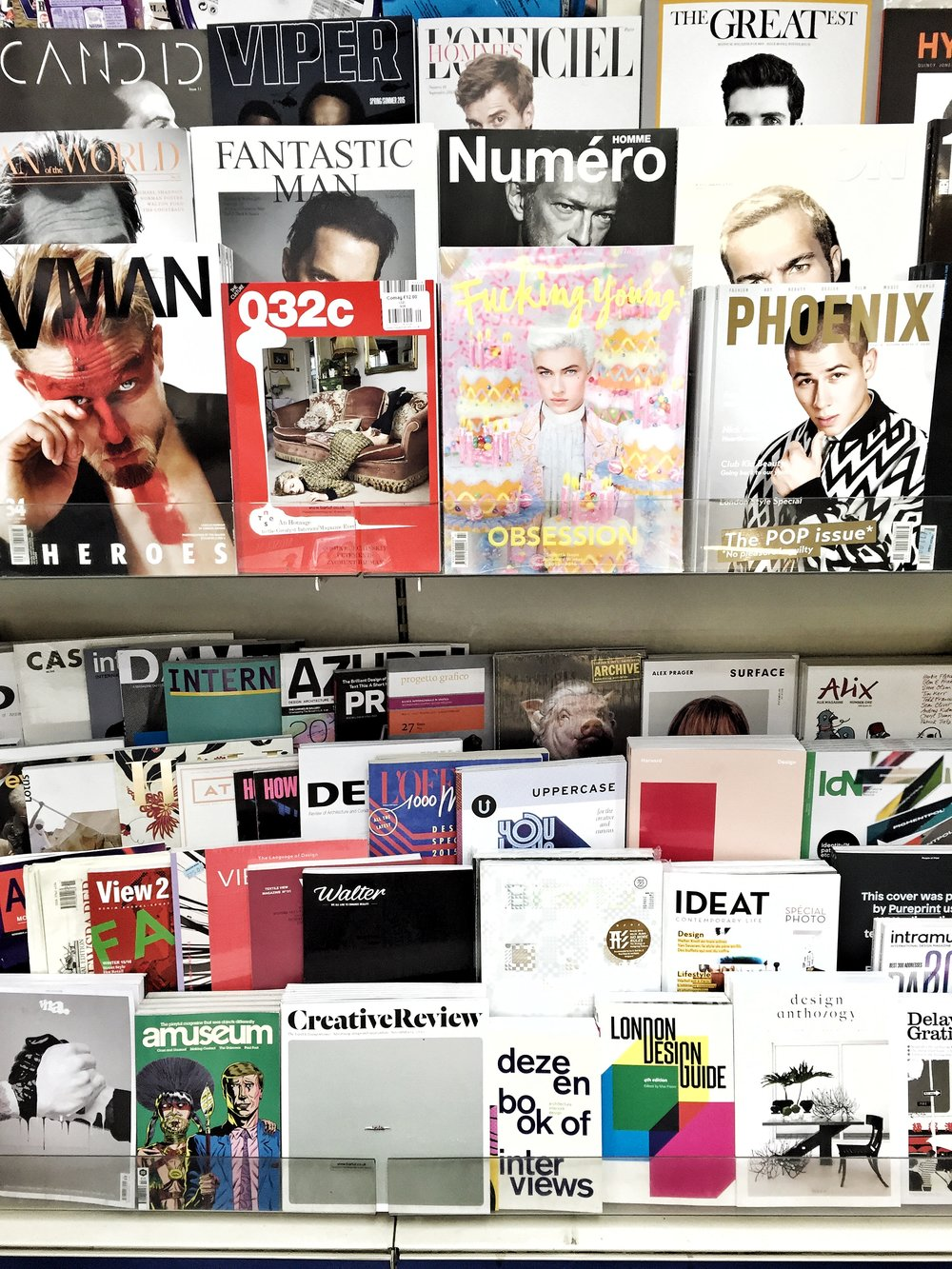 WARDOUR NEWS —  i-D Magazine