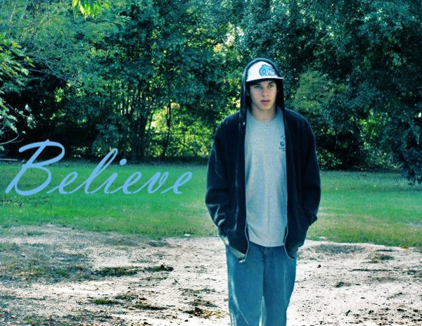 Believe was my first and only rap name before I stuck with Cole Connor