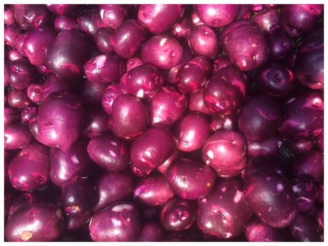 Purple Viking Potatoes