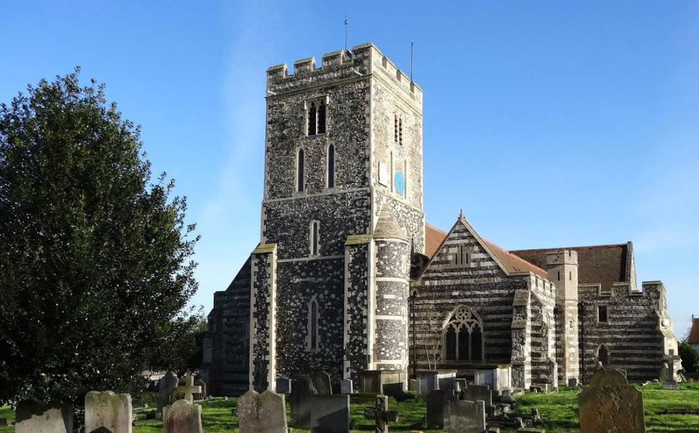 St Helen's church in Cliffe, Rochester, Kent
