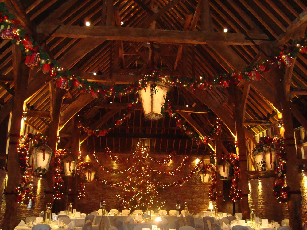 Christmas wedding from 2013 theme