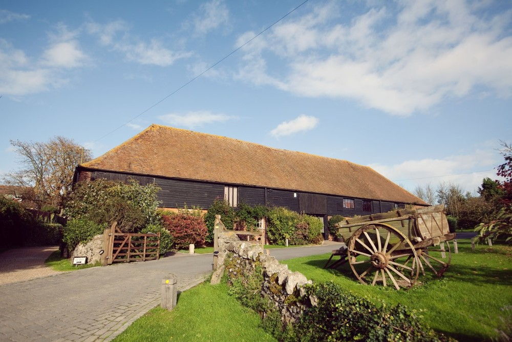 Exterior image of the tithe barn