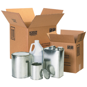 Hazardous materials shippers boxes and hazmat packaging
