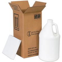 Hazardous materials shippers jugs