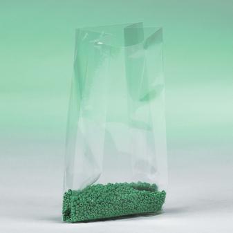 Side gusseted polypropylene bag