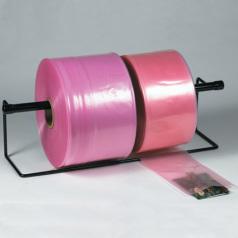 2mil pink anti static plastic polyethylene poly tubing