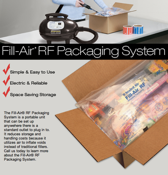 Air Pillow Package Cushioning Products
