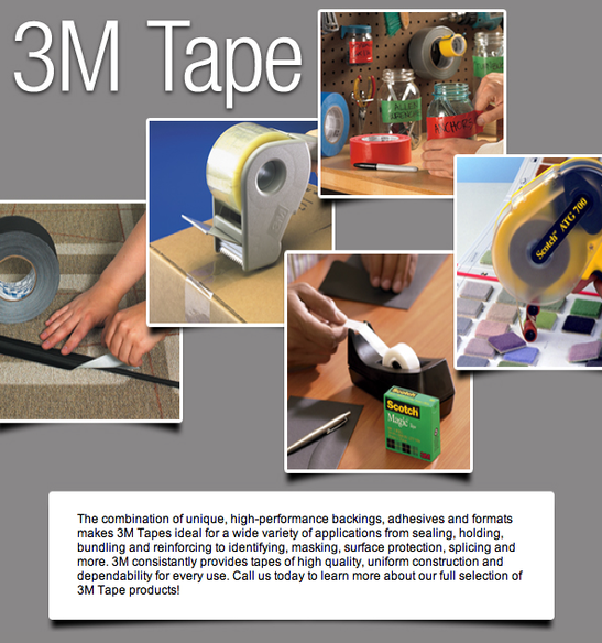 3M Box and carton sealing tapes