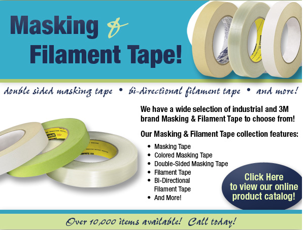 Masking & Filament Tapes