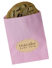 Paper bags and Dessert cake box labels