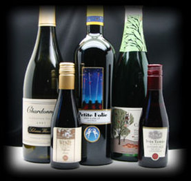 Food and wine labels for bottles and product packages