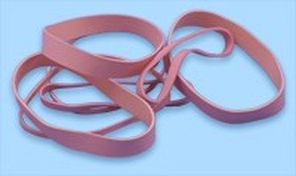 Pink antistatic rubber bands esd banding