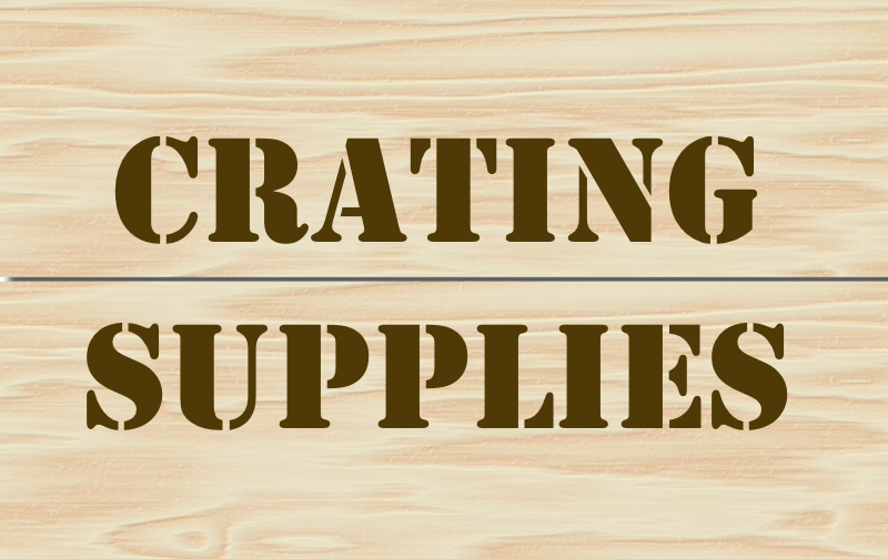 Crating hardware supplies wooden shipping boxes