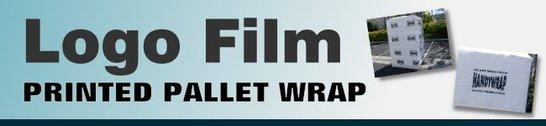 Logo printed printing stretch wrap pallet films