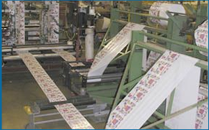 Production manufacturing for printed foodservice bags