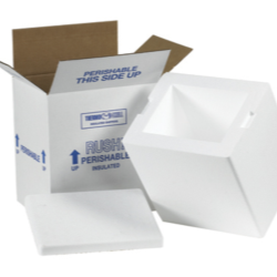 Insulated Cold Frozen Shipping Boxes