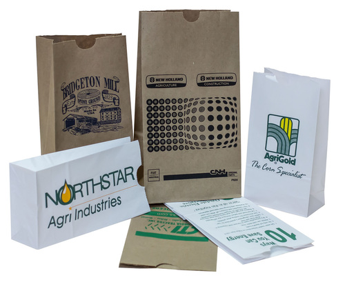 Printed Paper Sacks Bags